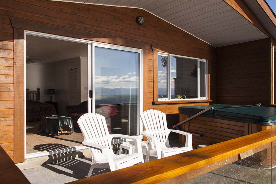 Sundeck of Cottage 1