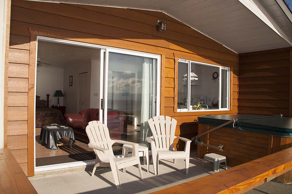 Sundeck of Cottage 5